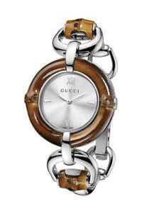 Gucci-Watch-New-Bamboo-Stainless-Steel-Bamboo-Silver-Analogue-Quartz-YA132403