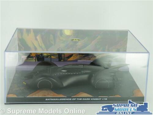 BATMAN BATMOBILE MODEL CAR LEGENDS OF DARK KNIGHT 1:43 EAGLEMOSS AUTOMOBILIA K8