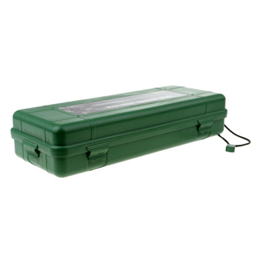 Outdoor Airtight Survival Storage Case Flashlight Torch Carry Container