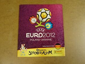 FOOTBALL-PANINI-ALBUM-COMPLETE-UEFA-EURO-2012-POLAND-UKRAINE