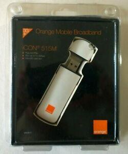 CoopéRative Orange Icon 515 M Mobile Haut Débit Dongle 3g+ Microsd Plug And Play Free P&p!-afficher Le Titre D'origine