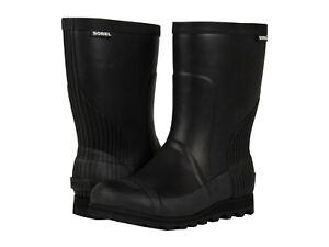 Sorel-Womens-Joan-Rain-Short-Pull-On-Knee-High-Waterproof-Snow-Boots