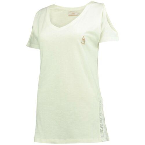 B12 Womens UK 16 Everton Luxe V T-Shirt White