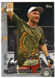 2015-Topps-UFC-Chronicles-Silver-Parallel-36-Martin-Kampmann