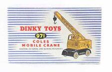 1 / 43 ème DINKY TOYS  COLES MOBIL CRANE / jouet ancien