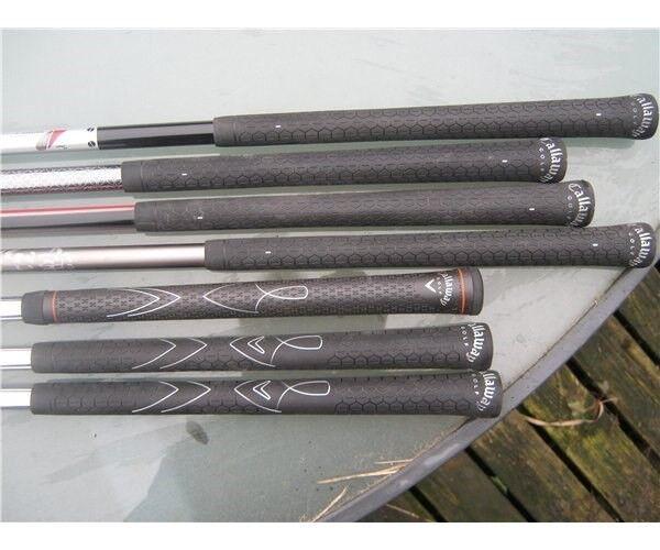 Grafit golfjern, 5 STK. GRAPHITE + 3 STK. JERN, ALLE NYE.