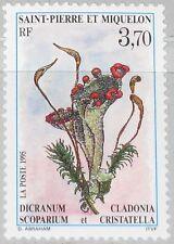 ST. PIERRE MIQUELON SPM 1995 689 612 Moose & Flechten Flora Pflanzen Plants MNH