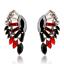 Fashion-Charm-Women-Jewelry-Rhinestone-Crystal-Resin-Ear-Stud-Eardrop-Earring thumbnail 6