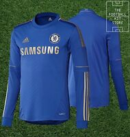 Chelsea Home Shirt - Genuine Adidas Cfc Football Jersey - Long Sleeved - 2xl