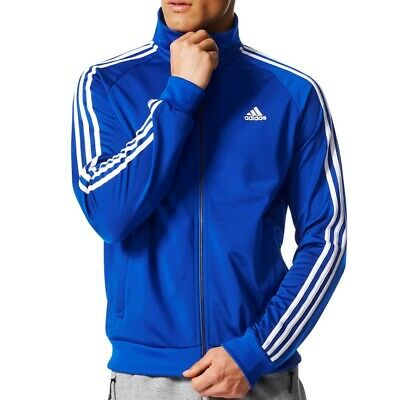 CD8760] Mens ADIDAS Essentials 3 Stripe Tricot Track Jacket