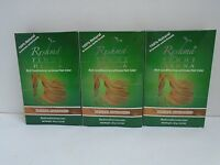 Reshma Henna Powder Natural Highlights For Hair Herbal Natural - Lot Of 3