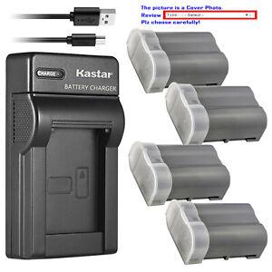 Details about Kastar Battery Slim USB Charger for Nikon EN-EL15e & Nikon Z6  Nikon Z7Q3 Camera