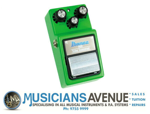 1 of 1 - Ibanez Tube Screamer TS9 Overdrive Pedal - THE STANDARD