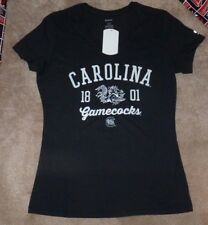 "South Carolina Gamecocks Women/'s NCAA /""Gamma/"" V-neck Dual Blend T-Shirt"