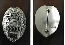 Day & Zimmermann Services Security Guard antique police badge