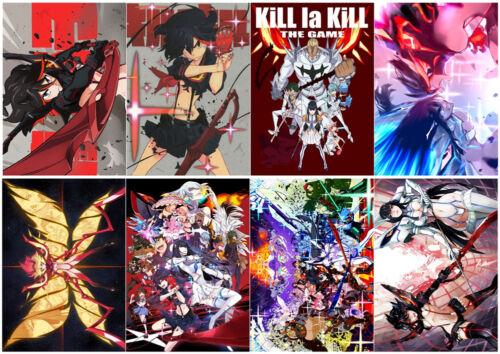 Kill La Kill Polypropylene A3 8 Pieces Posters Wall Poster