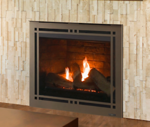 Majestic Meridian 36 Direct Vent Gas Fireplace With Intellifire
