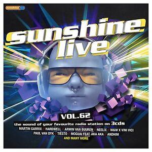 SUNSHINE-LIVE-VOL-62-MARTIN-GARRIX-ARMIN-VAN-BUUREN-HARDWELL-U-A-3-CD-NEW