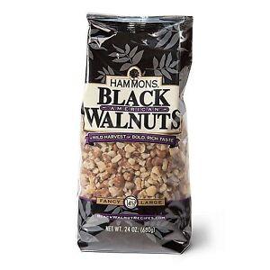 24-oz-Bag-HAMMONS-PREMIUM-BLACK-WALNUTS-FANCY-QUALITY-LARGE-PIECES