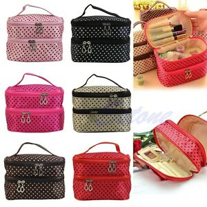 NEW-Women-Multifunction-Travel-Cosmetic-Bag-Makeup-Case-Pouch-Toiletry-Organizer