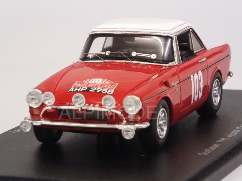 Sunbeam Rally Monte Carlo 1965 Cowan - Turvey 1:43 SPARK S4060