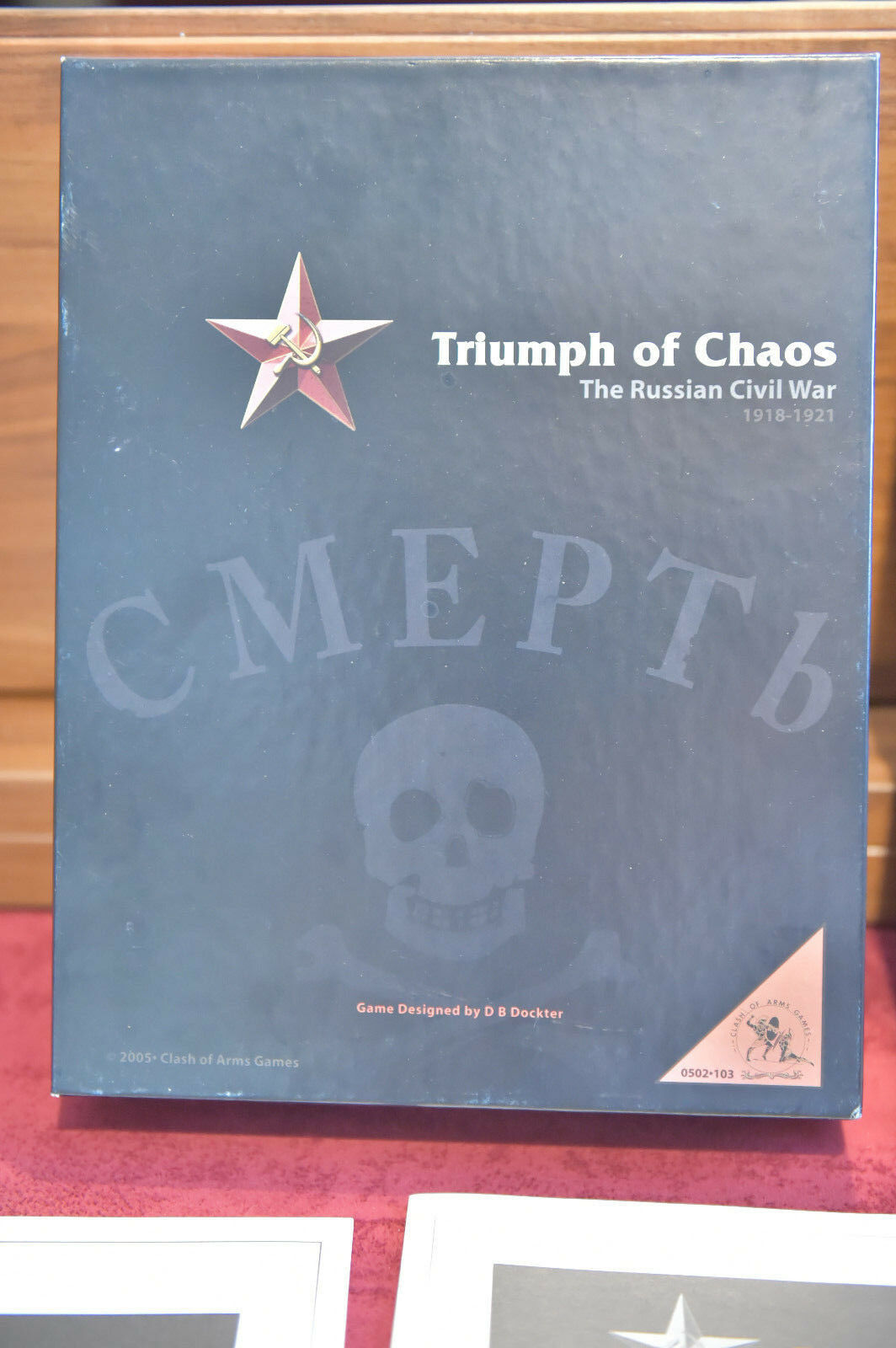 Triumph of Chaos with Comrade's Guide - COA - New Unpunched