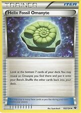 POKEMON XY FATES COLLIDE - HELIX FOSSIL OMANYTE - 102/124