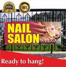 Nail Salon Banner Vinyl Mesh Banner Sign Flag Beauty Salon Barber Shop