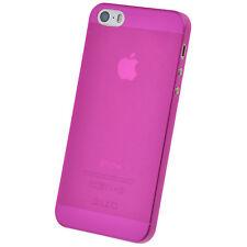 UltraSlim Case iPhone 5 5S SE FeinMatt Schutz Hülle Bumper Cover Schale Folie