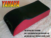 Yamaha Srx 340 440 1978-80 Seat Cover Black With Red Sides Srx440 Srx340 510b