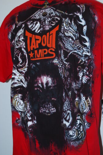 TAPOUT MPS S//S LOGO TEE RED MSRP $24
