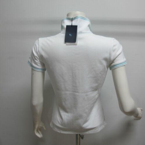 Et M bianco Col Gant 407420 Femme Taille Polo short verde Art S pxwnn6PEq