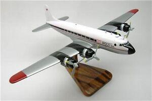 DC-4-ARDCO-Inc-Douglas-DC4-Airplane-Mahogany-Wood-Model