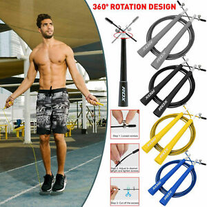RDX Skipping Rope Fitness Speed Jump Ropes Weight Loss Training Jumping Exercise