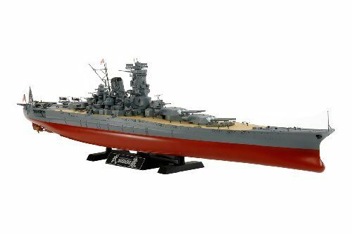 TAMIYA 1 350 Japanese Battleship Musashi Model Kit NEW from Japan