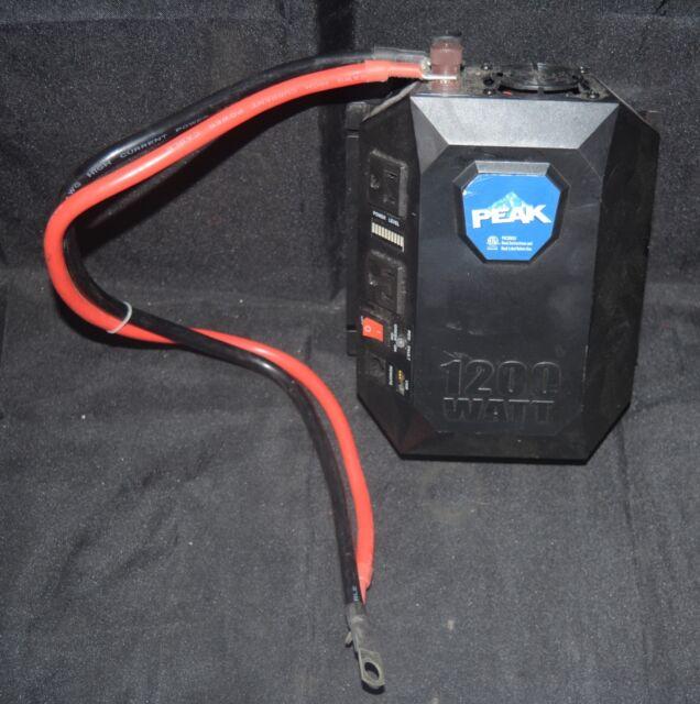 detailed look 71422 6d5ee Peak 1200 Watt Work Zone Mobile Power Outlet Pkcom12 for ...