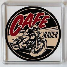 Cafe Racer Fridge Magnet