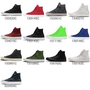 Converse-Chuck-Taylor-All-Star-II-2-Hi-Top-Lunarlon-Men-Women-Sneakers-Pick-1