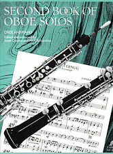 SECOND BOOK OF OBOE SOLOS Sheet Music Book & Piano Accompaniment