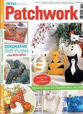 Anna # A 390 PATCHWORK Dekorative Stoffpuzzle - Zauberhaftes aus Stoff