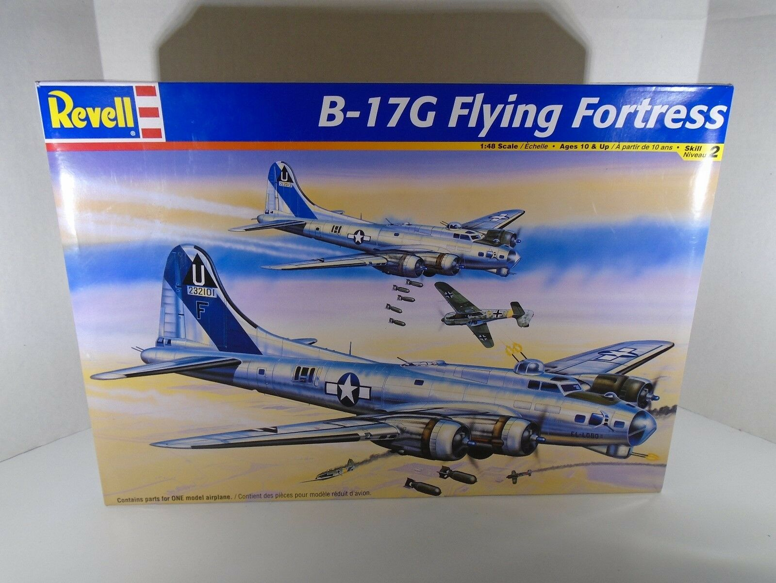 2004 REVELL--B 17G FLYING FORTRESS AIRPLANE--MODEL KIT (LOOK) 1 48 SCALE