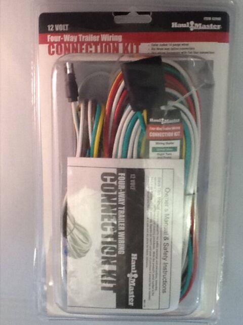 trailer wiring 4 way connect kit 12 volt 14 gauge 25ft wire for ...  ebay