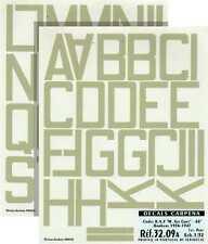 """Colorado Decals 1/32 Sky RAF Code Letters 48"""" # 32009"""