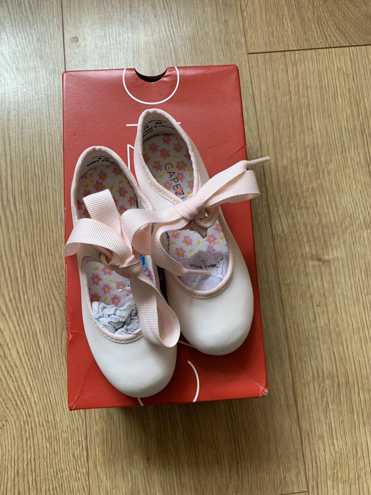 Capezio Pink Tyette Tap Shes - Size 8