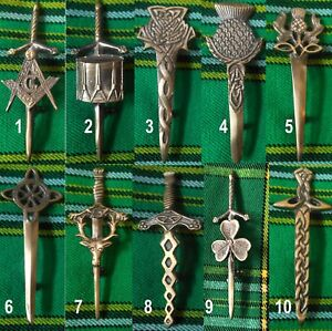 Highland-Kilt-Pin-finition-antique-divers-design-ecossais-kilt-broche-de-securite-8-11-cm