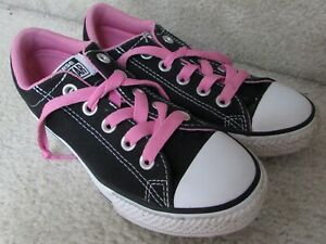 Top Sneakers Black Pink Size