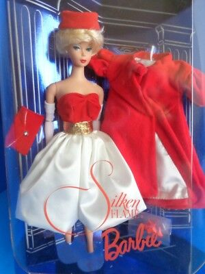 Mattel 1997 Silken Flame Barbie Doll NRFB Collector Edition 1962 Reproduction for sale online