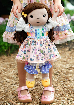 """Matilda Jane Doll Clothes turning purple Doll outfit fits 18"""""""