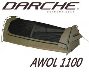 DARCHE-AWOL-1100-SWAG-CAMPING-FISHING-EQUIPMENT-TENT-KING-SINGLE