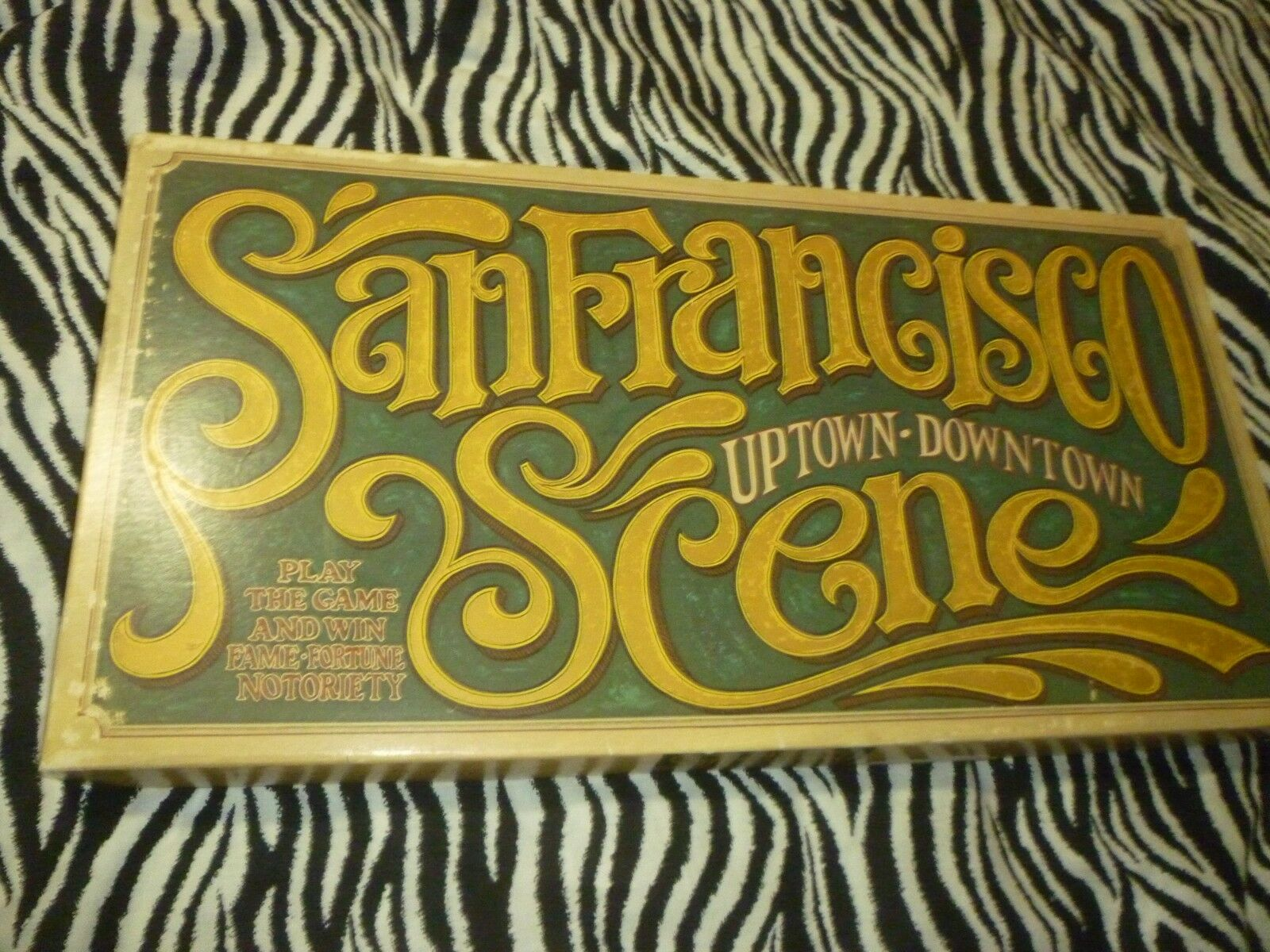 San Francisco Scene 1977 Vintage Board Game - Used Good Condition